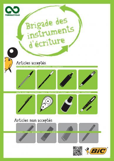 Instruments d'écriture