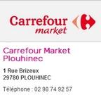 Carrefour market plouhinec
