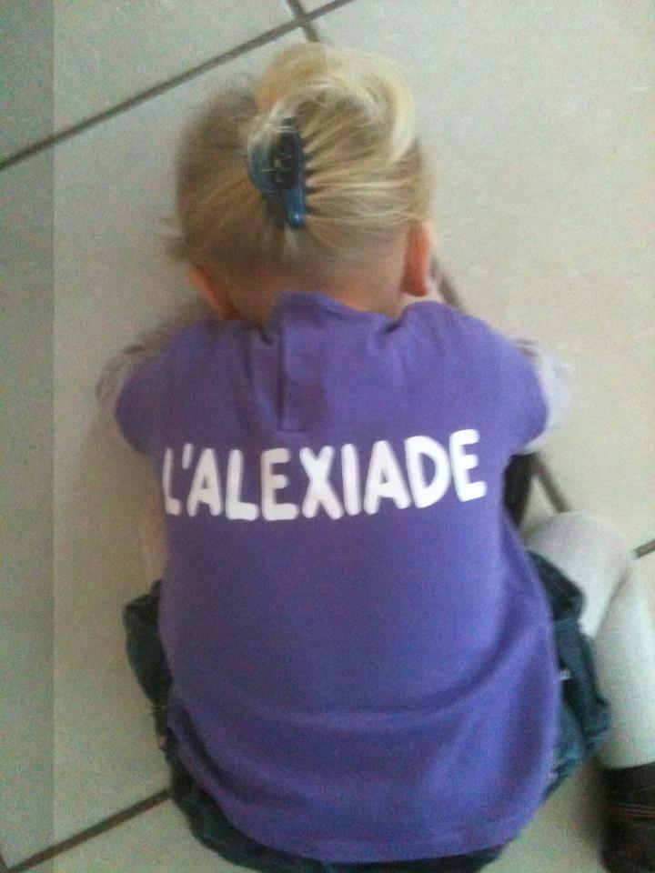 Alexia prête pour l'Alexiade !